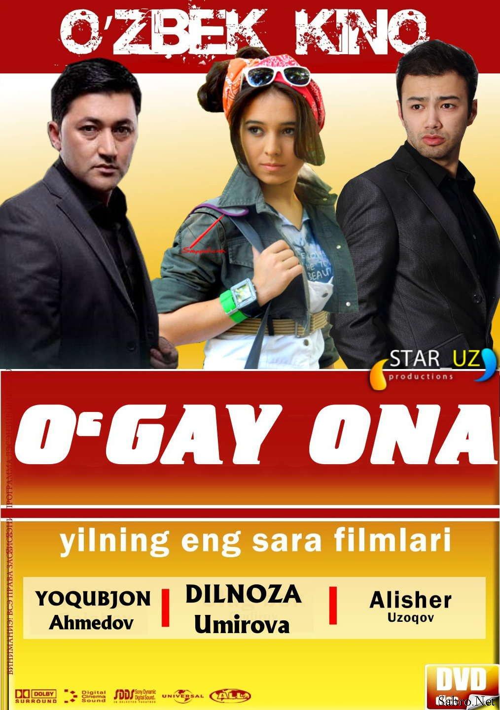 Онлайн Просмотров. O'gay ona Yangi O'zbek Kino 2013.